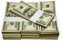 Banconote in dollari: vincere con le slot machine.